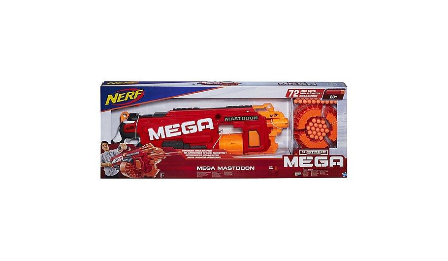 Nerf N Strike Mega Mastodon Blaster With Bonus Darts