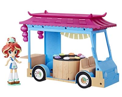 My Little Pony Equestria Girls Rollin Sushi Truck | Toys \u0026 Character |  George