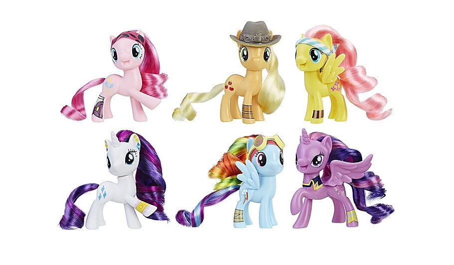 my little pony the movie pirate ponies collection toys character