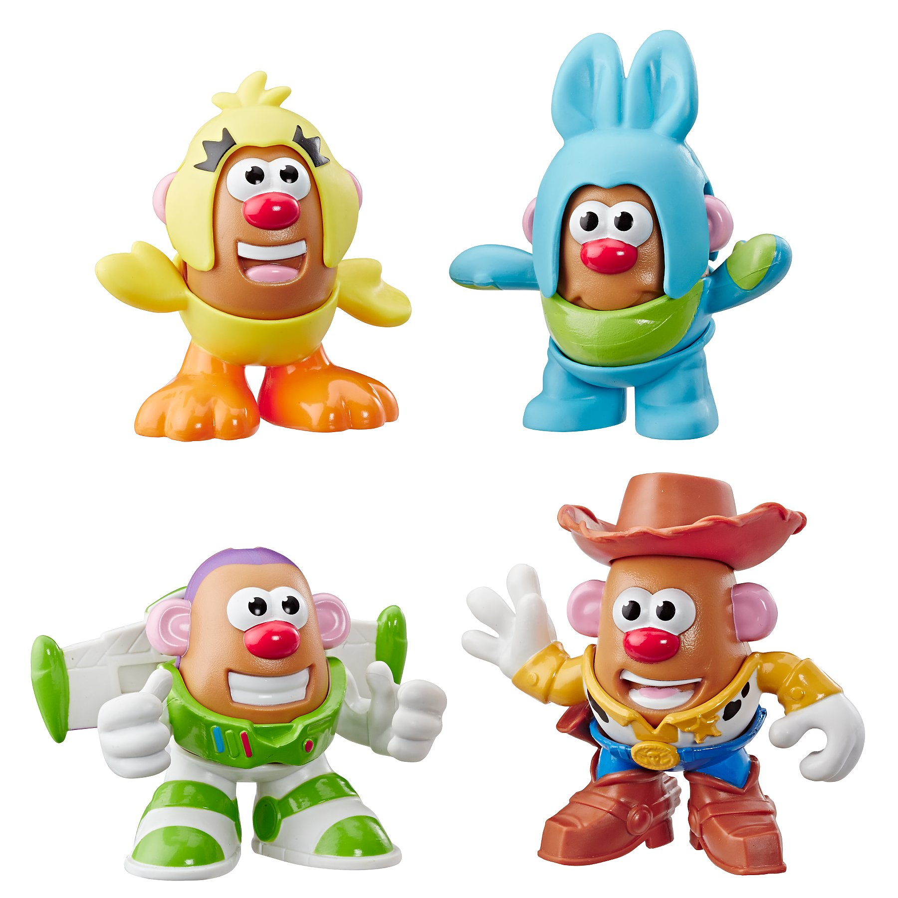 Disney Pixar Toy Story Mini Mr Potato Head 4 Pack
