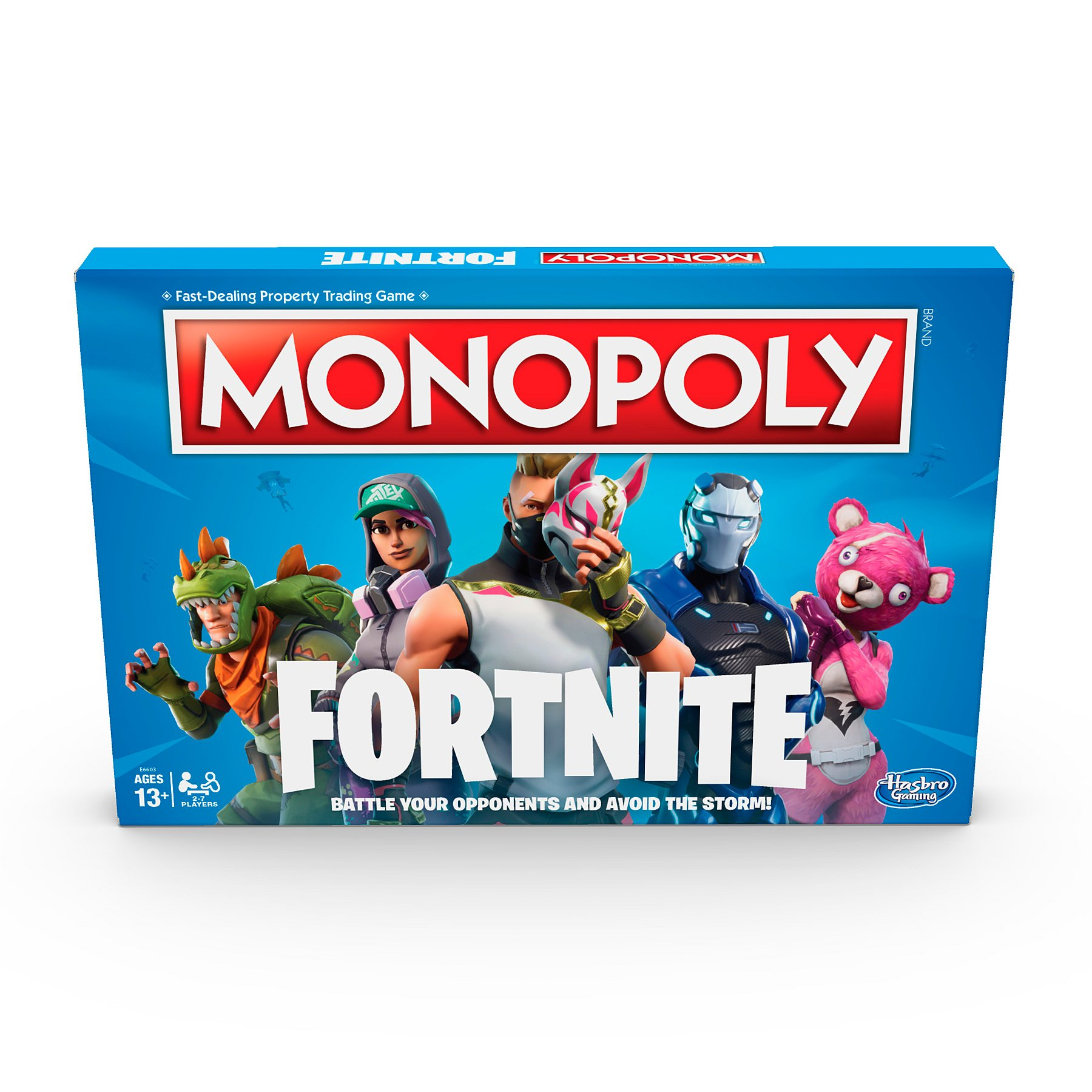 Monopoly Fortnite Edition Board Game Inspired By Fortnite Video