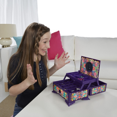 DohVinci Secret Sparkle Jewellery Box Kit Kids George at ASDA