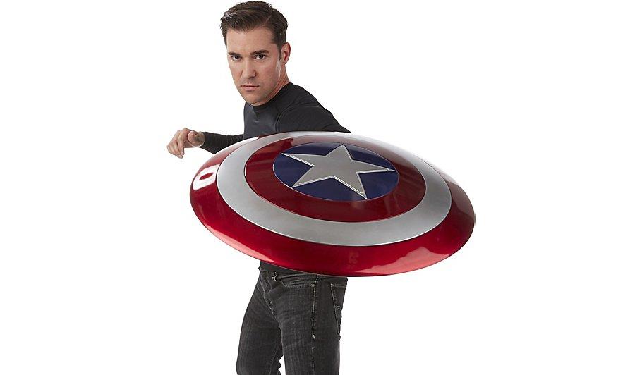 marvel legends captain america shield adult george at asda. Black Bedroom Furniture Sets. Home Design Ideas