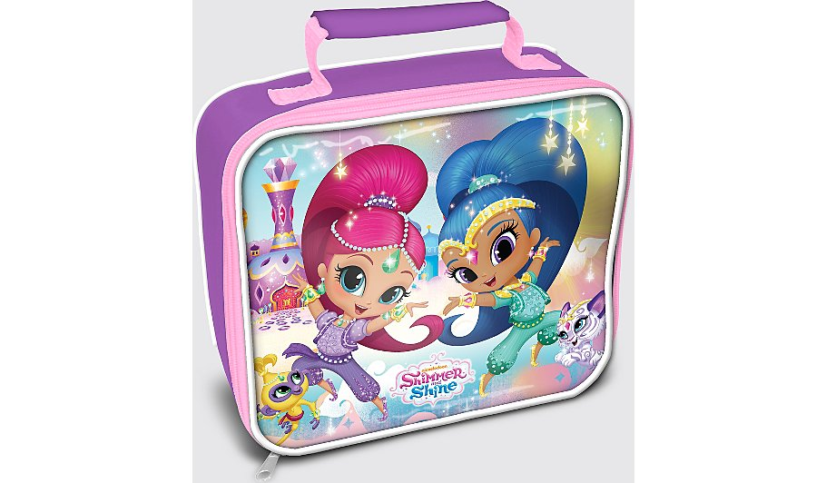 shimmer shine lunch bag kids george at asda. Black Bedroom Furniture Sets. Home Design Ideas