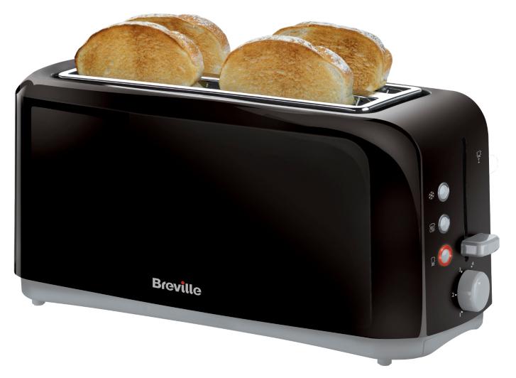 Breville 4 Slice Toaster VTT233 4 Slice Black