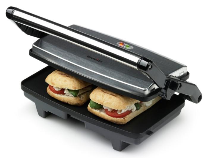 Breville VST049 Cafe Style 2 Slice Sandwich Toaster ...