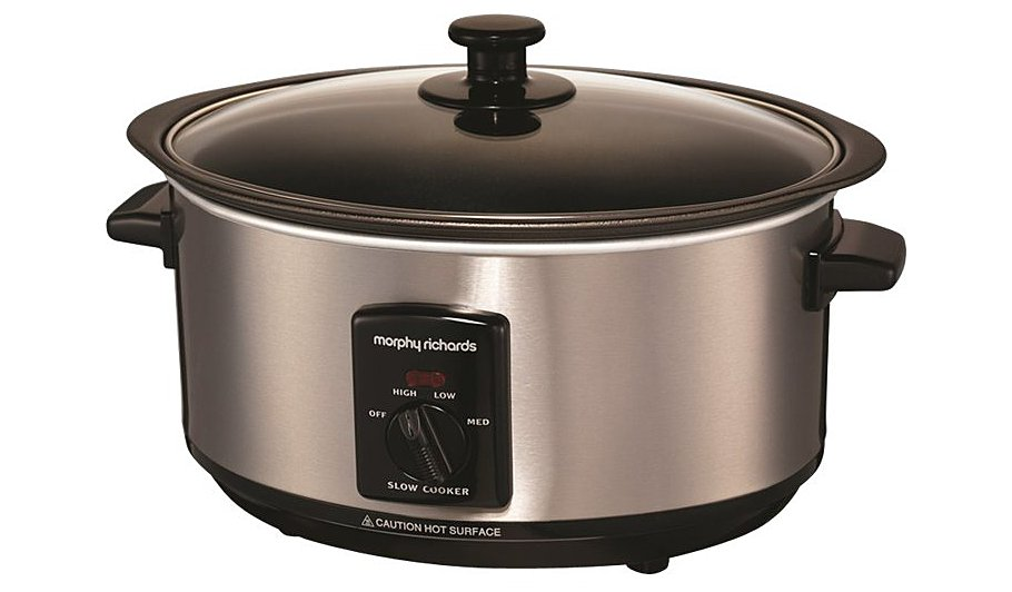 Morphy Richards 48701 3.5L Slow Cooker - Stainless Steel | Home ...