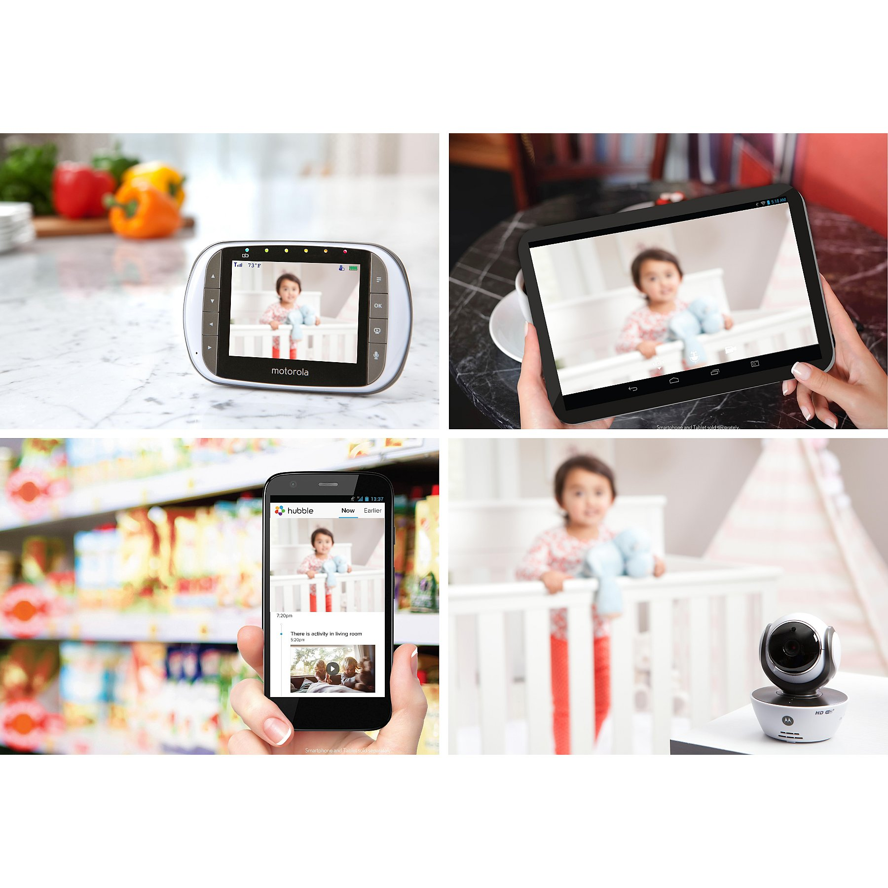 Motorola MBP853 Connect Digital Video Baby Monitor
