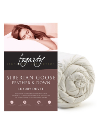 Fogarty Siberian Goose Feather Amp Down Duvet 10 5 Tog