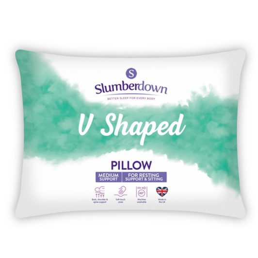 Slumberdown V Shape Pillow Home Amp Garden George
