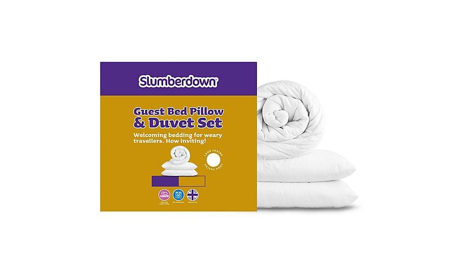 Slumberdown Complete Bedset Bundle 13 5 Tog Duvets Pillows George At Asda