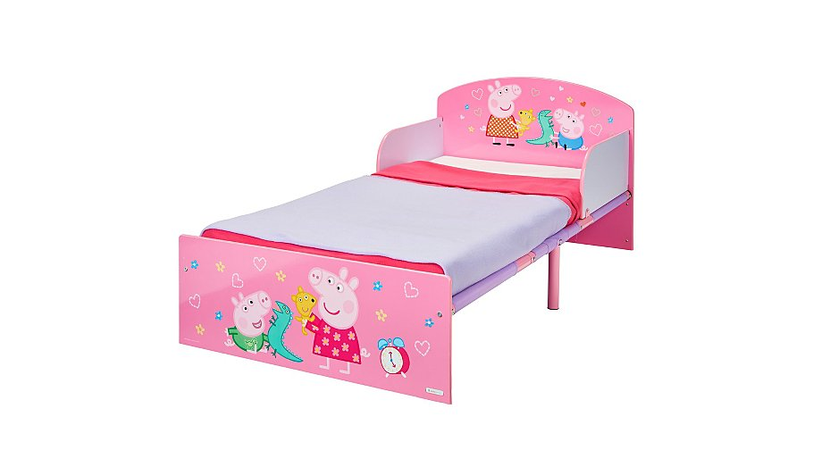 Hellohome Peppa Pig Toddler Bed