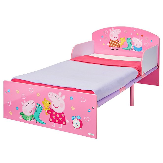 huge discount d55ad cccb5 HelloHome Peppa Pig Toddler Bed
