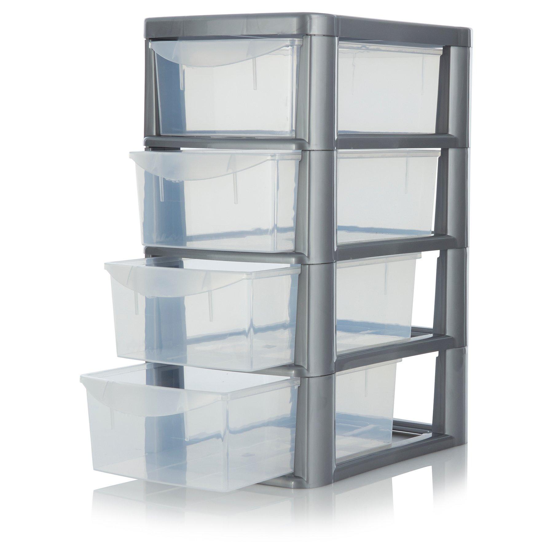 5c55c1367 ASDA 4 Drawer Storage Unit | Home & Garden | George at ASDA