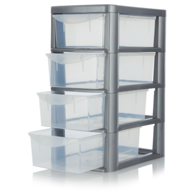 Beau Small 4 Drawer Storage Unit