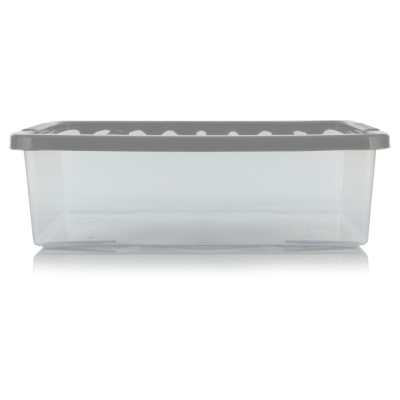 Delightful Food Storage Containers Asda Part - 4: ASDA Clear Underbed Box And Lid 32L