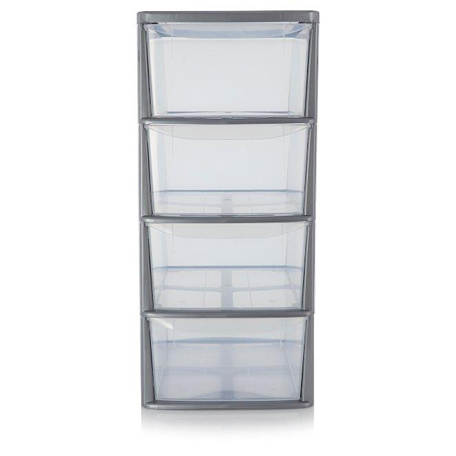 Asda 4 Drawer Storage Unit Home