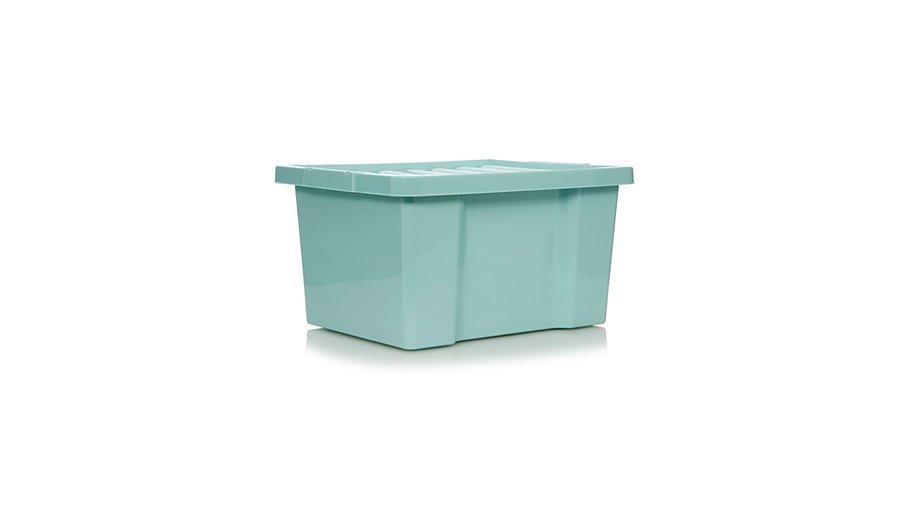 asda aqua box and lid 27l set of 4 home garden george at asda