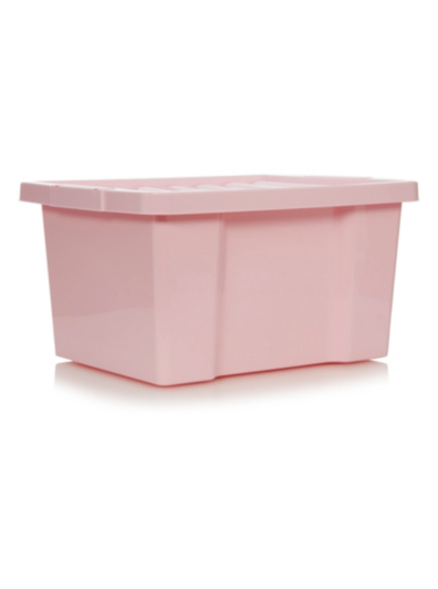 Asda Pink Box and Lid 27L Set of 4 Home Garden George at ASDA