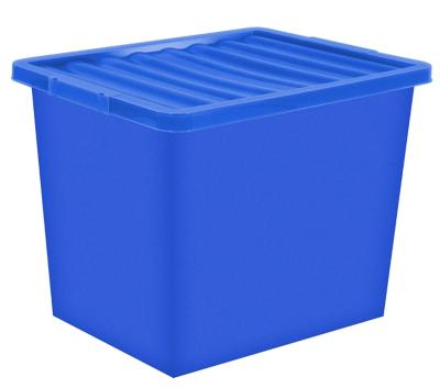 Superbe Blue Storage Box U0026 Lid   80 Litre