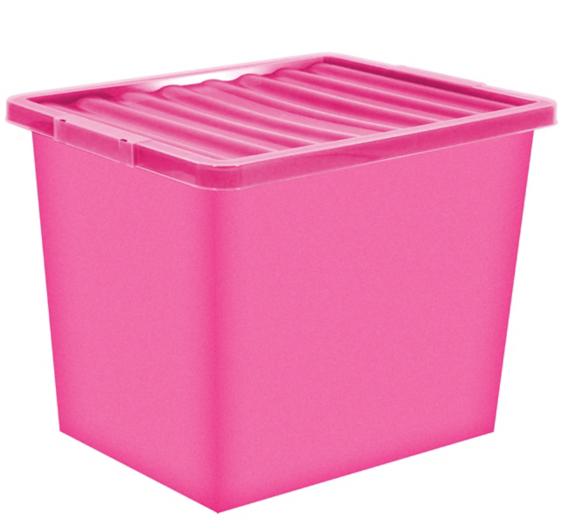 80 Litre Storage Box Lid Home Garden George at ASDA