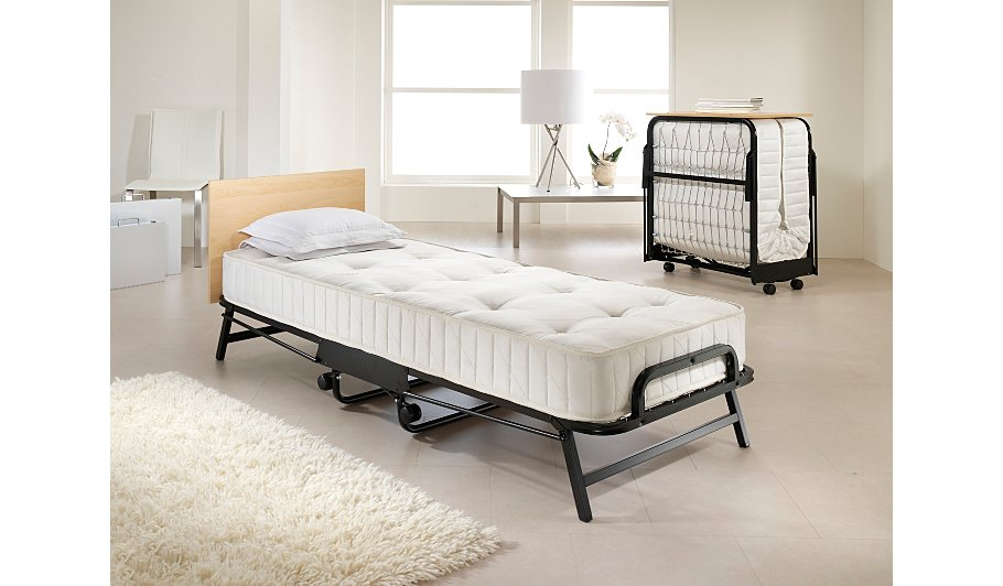 Jay Be Contract Folding Bed With Deep Sprung Mattress Single