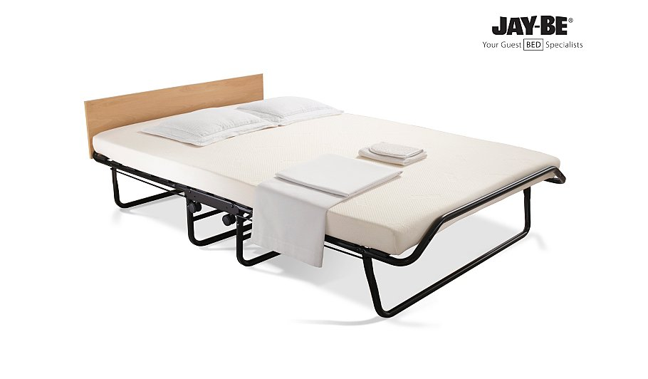 Jay Be Folding Bed With Memory Foam Mattress Double Beds George At Asda