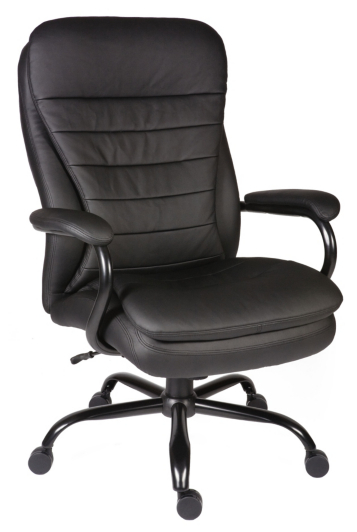 Goliath Extra Leather Executive Chair in Black fice Chairs