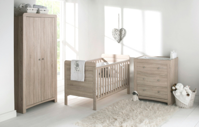 East Coast Fontana Nursery Furniture Roomset  Wardrobes  George