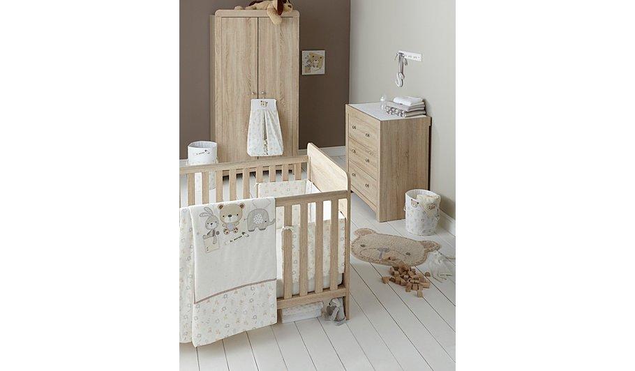 East Coast Fontana Nursery Furniture Roomset Home