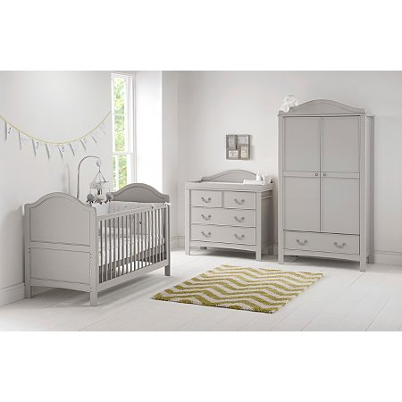 Toulouse Baby Furniture Range Changing Units Drawers George - Toulouse bedroom furniture white