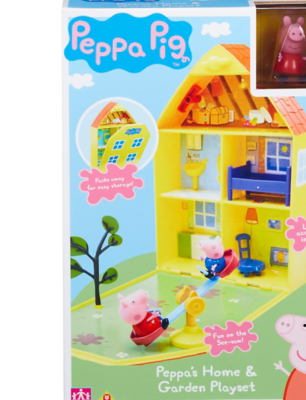 Peppa Pigs House U0026 Garden Playset