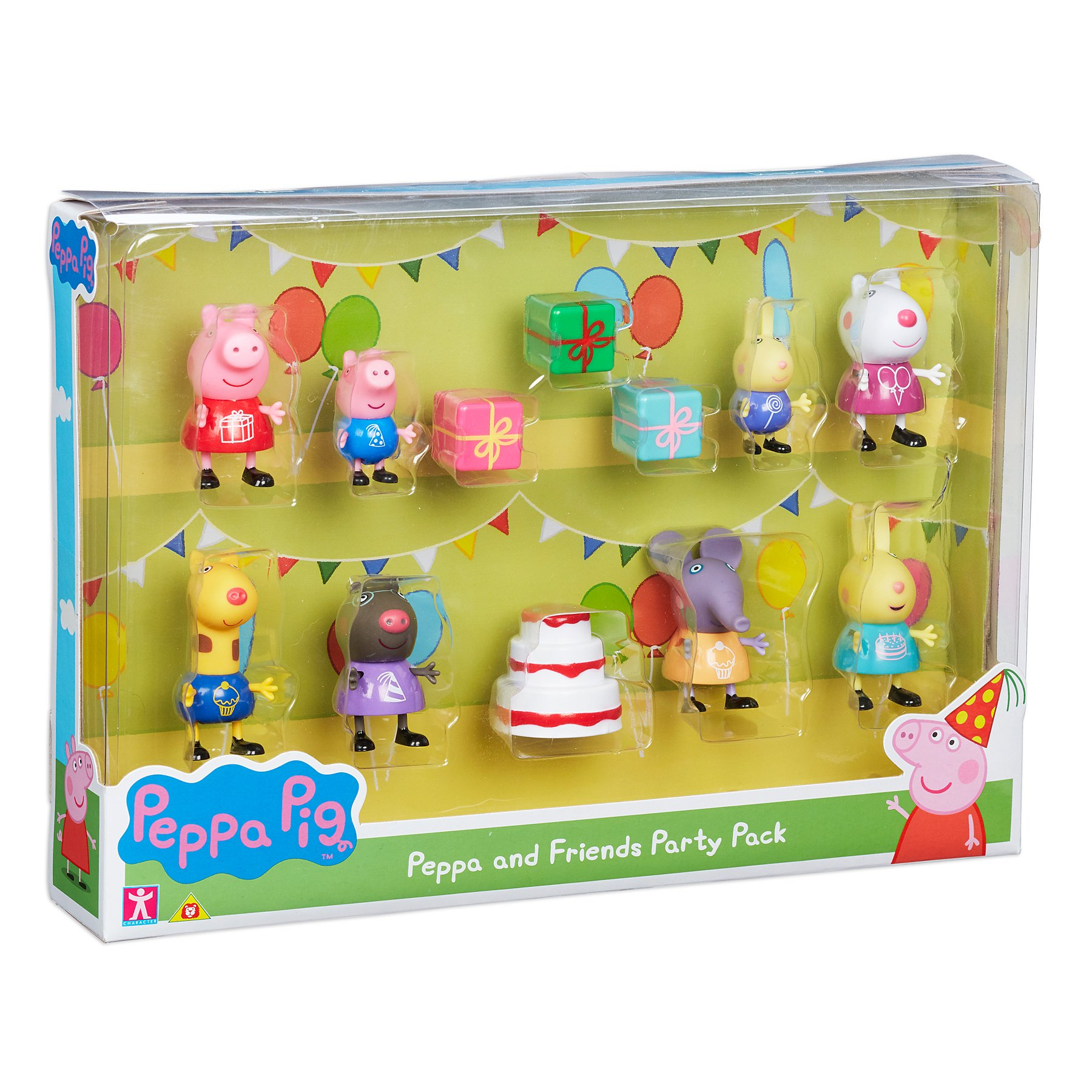 Peppa And Friends Party Pack Toys Character George