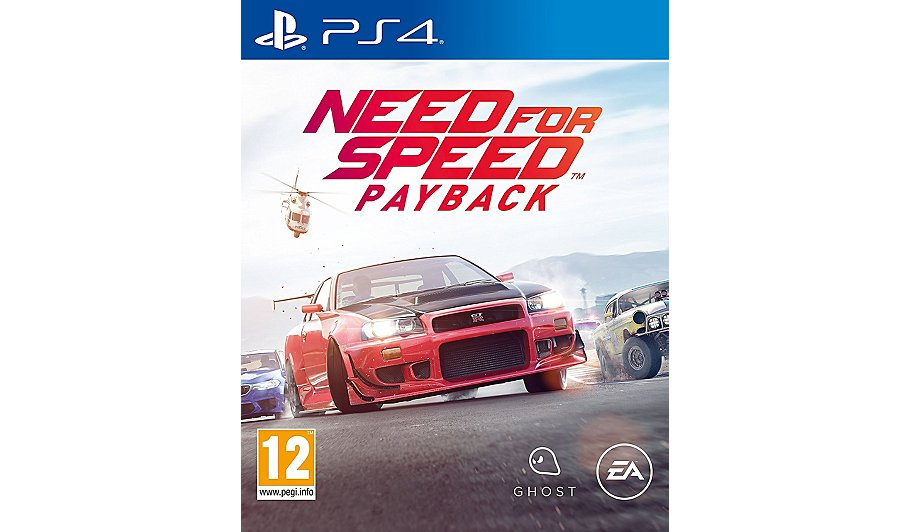 need for speed payback ps4 home garden george. Black Bedroom Furniture Sets. Home Design Ideas