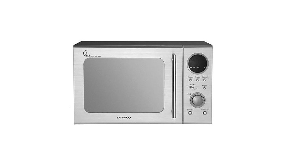 Daewoo Kor3000dsl 20l 800w Microwave Oven Stainless Steel