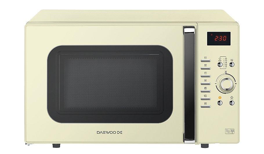 Daewoo Koc9q3tc Combination Microwave Oven Cream Home Garden George At Asda
