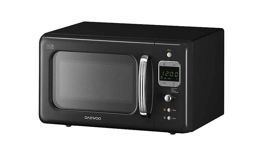 Daewoo Kor7lbkb 20l 800w Microwave Oven Double Clicktap To Zoom Or Select Image Load