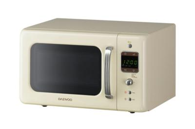 daewoo retro microwave cream home garden george rh direct asda com daewoo dc microwave oven manual daewoo 3d power microwave user manual