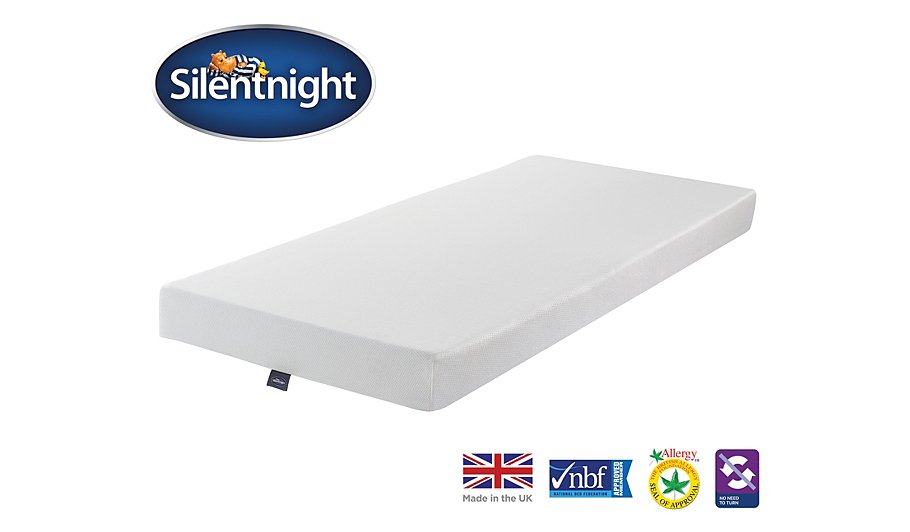 Silentnight Comfortable Foam Mattress Single Mattresses George At Asda
