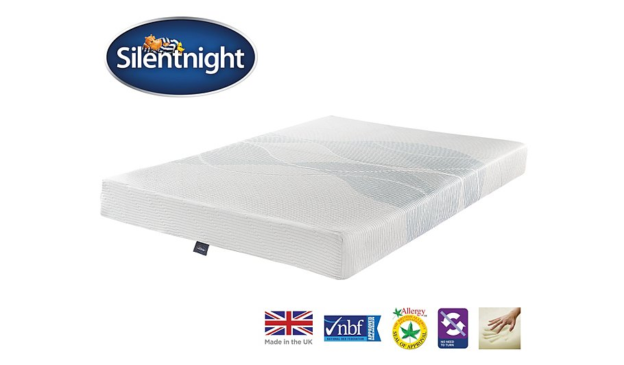 Silentnight 3 Zone Memory Foam Mattress Double Mattresses George At Asda