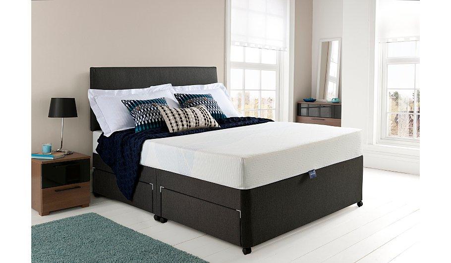 silentnight 3 zone memory foam mattress double home. Black Bedroom Furniture Sets. Home Design Ideas