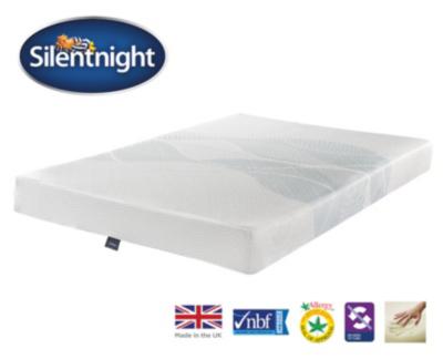 silentnight 3 zone memory foam mattress king size mattresses george at asda