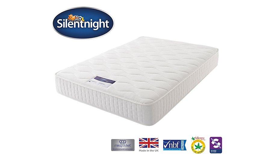 Silentnight Mirapocket 1000 Deluxe Mattress Double