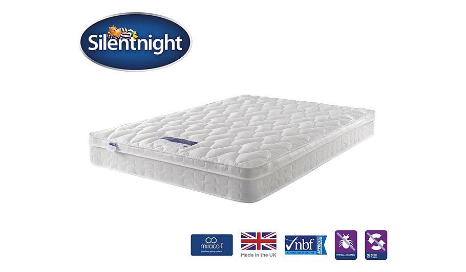 Silentnight Miracoil Cushion Top Mattress