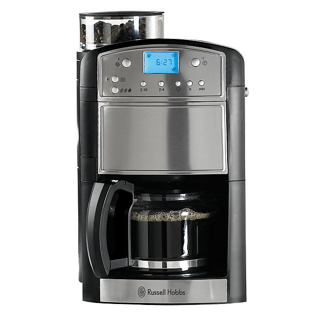 Russell Hobbs 14899 Platinum Grind And Brew Coffee Machine