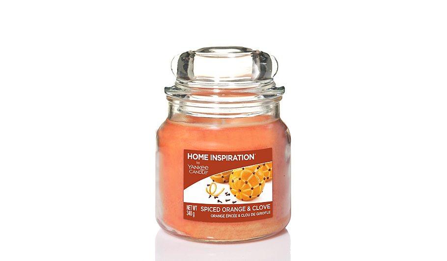 yankee candle home inspiration jar spiced orange and. Black Bedroom Furniture Sets. Home Design Ideas