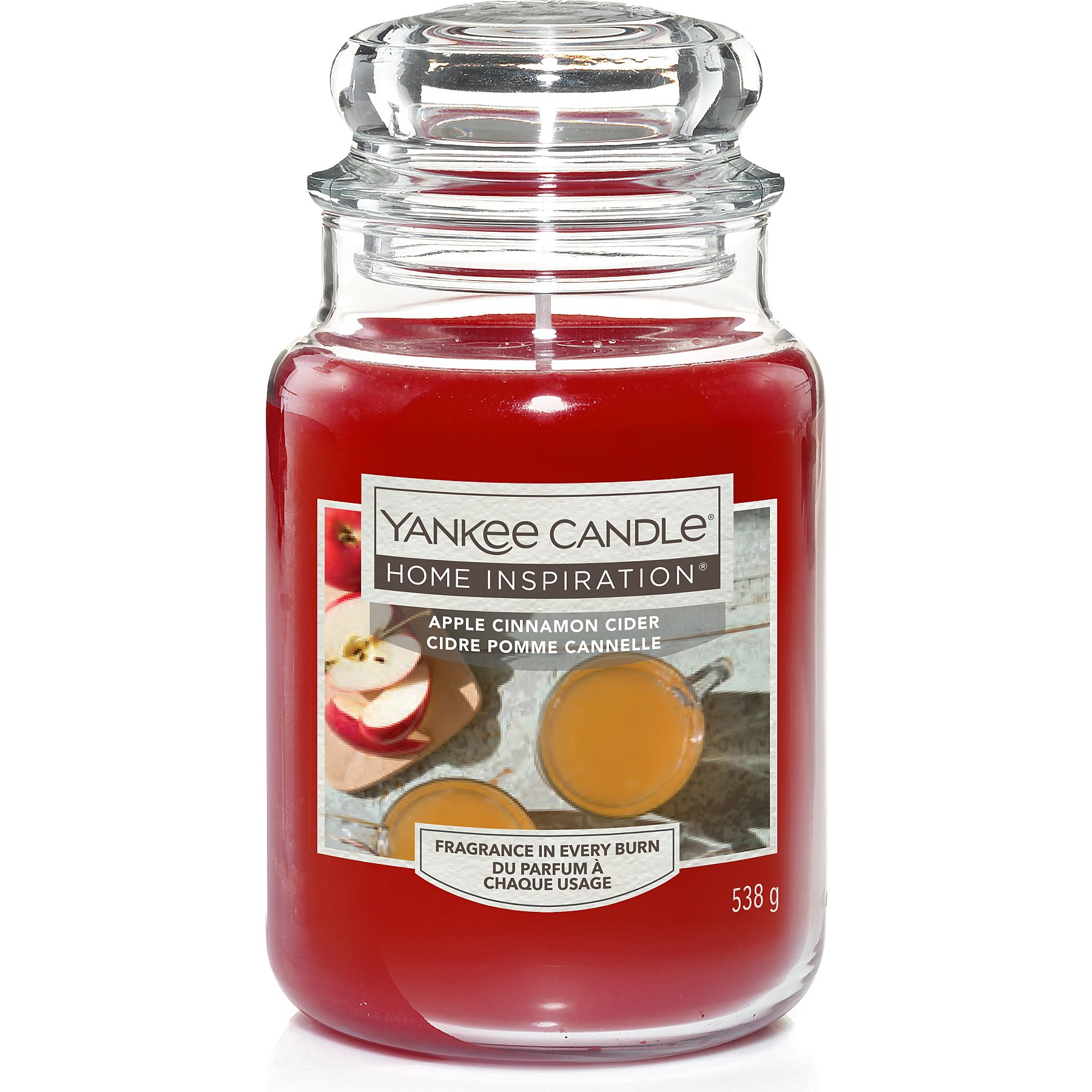 Yankee Candle Apple Cinnamon Cider Large Jar Home George At Asda