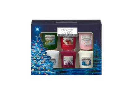 Yankee Candle Home Inspiration  Votive Christmas Gift Set