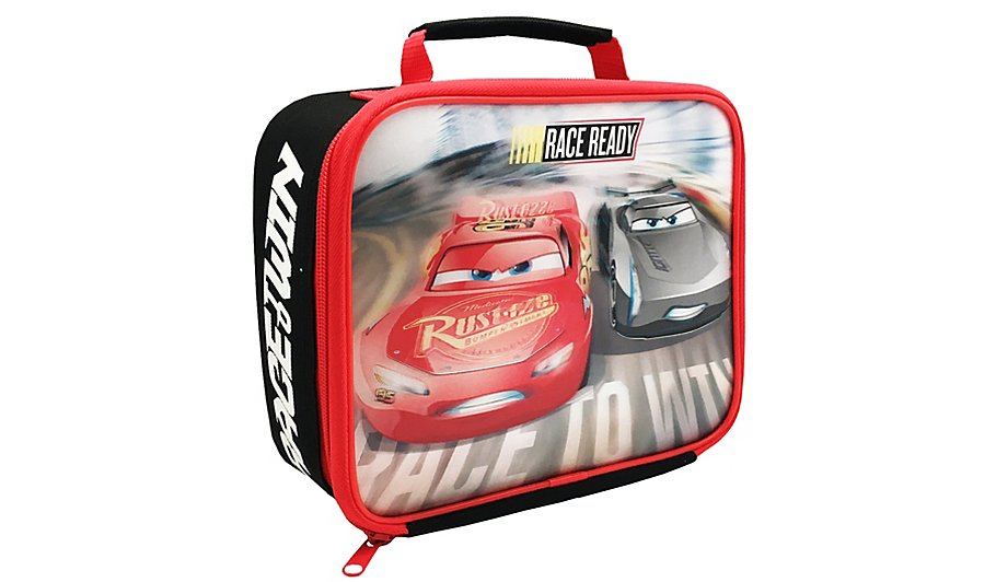 cars 3 lunch bag home garden george. Black Bedroom Furniture Sets. Home Design Ideas