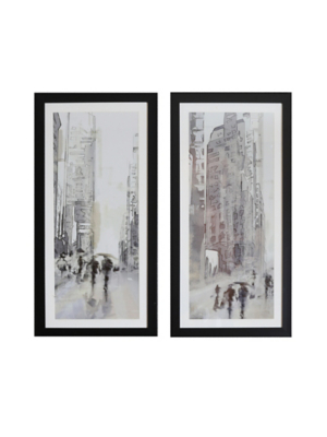 Arthouse Cities Set of 2 Framed Prints